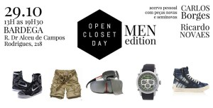 Open Closet Day Men Edition